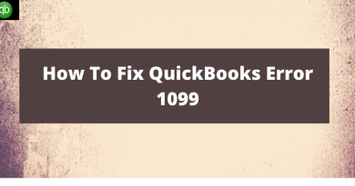 QuickBooks Error 1099